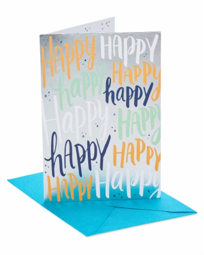 American Greetings #31 Birthday Card (Happy) Perspective: front