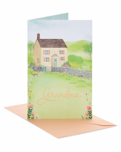 American Greetings So Important Birthday Card for Grandma Perspective: front