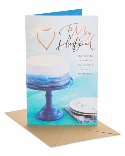 American Greetings Celebrate Birthday Card for Husband Perspective: front