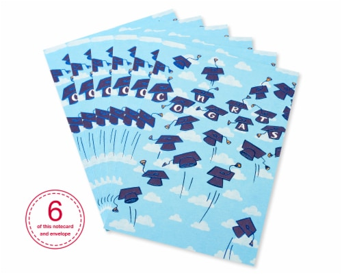 American Greetings #61 Graduation Cards (Grad Caps) Perspective: front