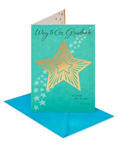 American Greetings #62 Graduation Card (Way To Go) Perspective: front