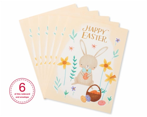 American Greetings #54 Easter Cards (Easter Bunny) Perspective: front