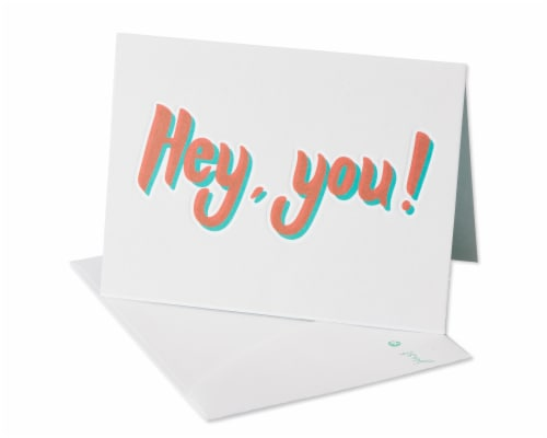 American Greetings Funny Miss You Card (Miss Your Face) Perspective: front