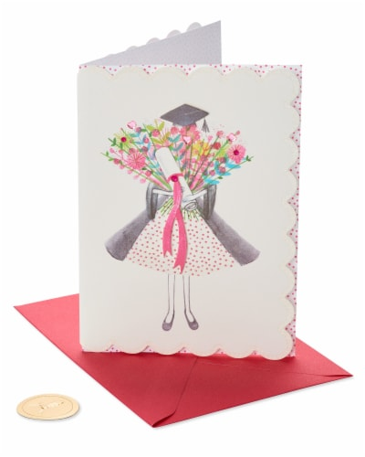 Papyrus Graduation Card (Wonderful You) Perspective: front