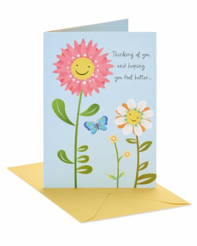 American Greetings Feel Better Thinking of You Card Perspective: front