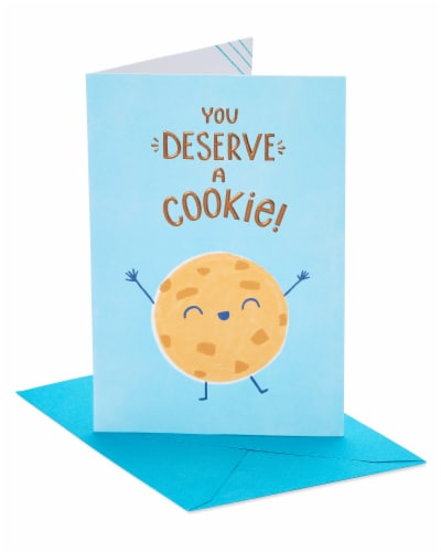 American Greetings Cookie Congratulations Card Perspective: front
