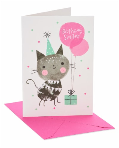 American Greetings #20 Birthday Card (Smiles) Perspective: front
