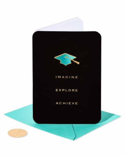 Papyrus #54 Graduation Card (Achieve) Perspective: front