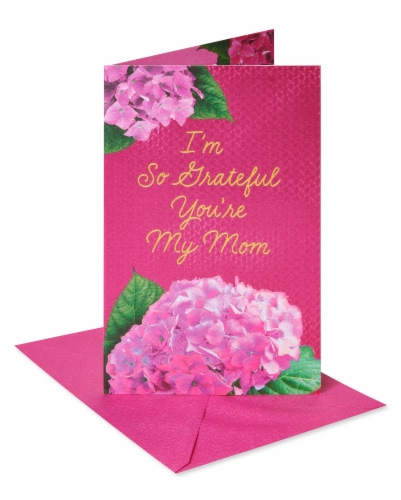 American Greetings #60 Mother's Day Card (Grateful) Perspective: front