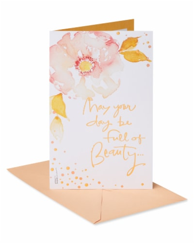 American Greetings #65 Mother's Day Card (Beauty) Perspective: front