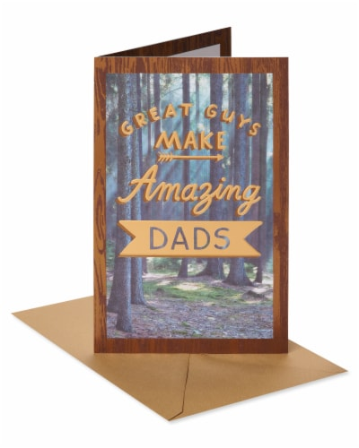American Greetings #64 Father's Day Card (Amazing Dad) Perspective: front
