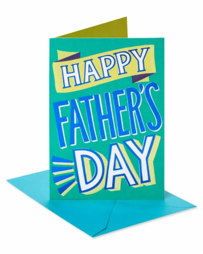 American Greetings #65 Father's Day Card (Best Day Ever) Perspective: front