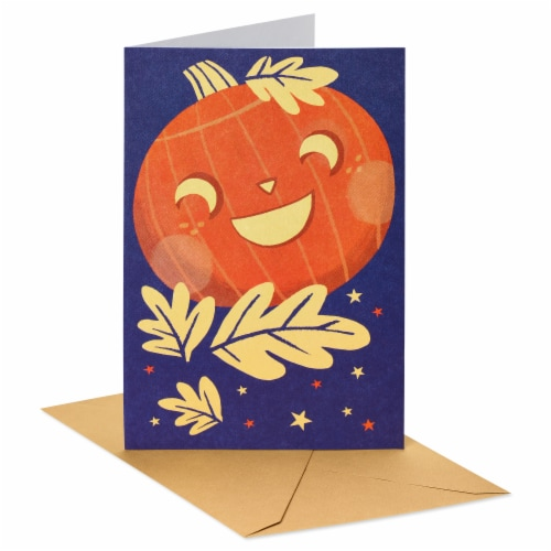 American Greetings Thinking of You Card (Smiling Pumpkin) Perspective: front