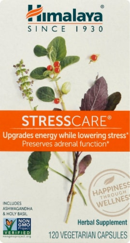 Himalaya Herbal Healthcare Stress Care Perspective: front