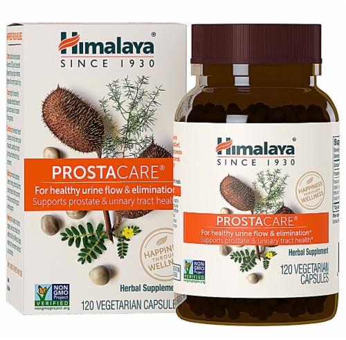 Himalaya ProstaCare Vegetarian Capsules Perspective: front