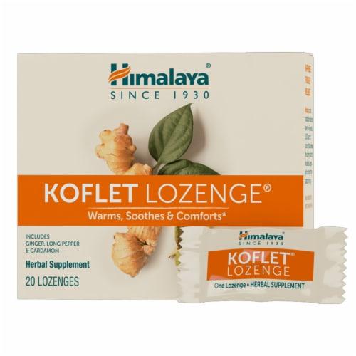 Himalaya Herbal Healthcare® Koflet® Herbal Supplement Lozenges Perspective: front