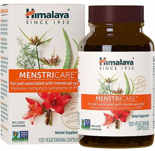 Himalaya MenstriCare Vegetarian Capsules Perspective: front