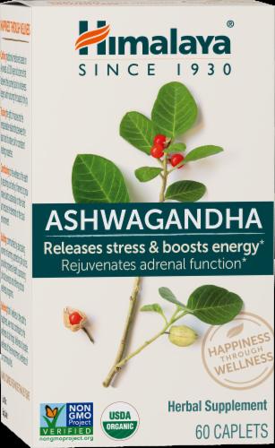 Himalaya Herbal Healthcare Ashwagandha Herbal Supplement Perspective: front