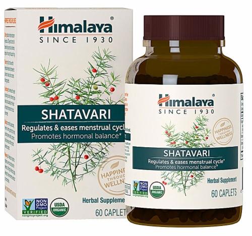 Himalaya Organic Shatavari Caplets Perspective: front