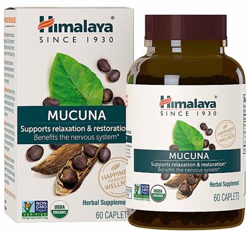 Himalaya Organic Mucuna Caplets Perspective: front