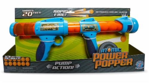 Hog Wild Atomic Power Popper Foam Ball Blaster Perspective: front