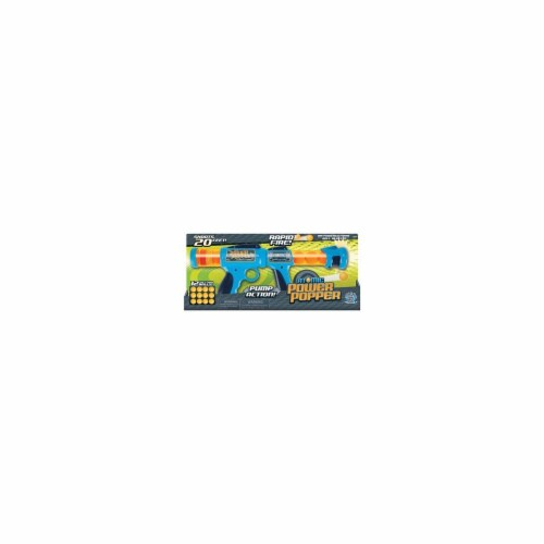 Hog Wild Atomic Power Popper Pump Action Toy Perspective: front