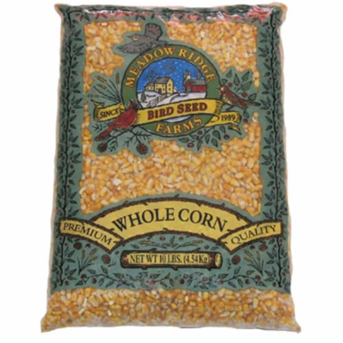 JRK Seed & Turf Supply B202110 10 lbs. Shelled Whole Corn Perspective: front