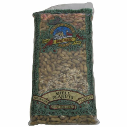 JRK Seed & Turf Supply B201205 5 lbs. Peanuts In The Shell Bird Food Perspective: front