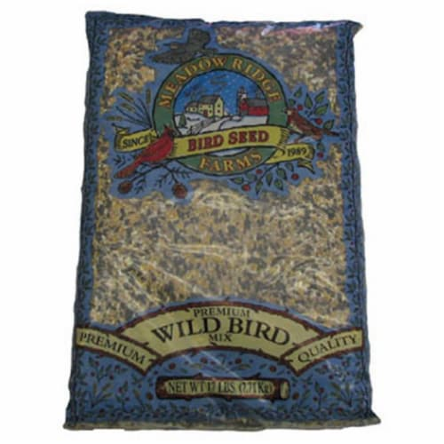 JRK Seed & Turf Supply B201417 17 lbs. Premium Wild Bird Food Mix Perspective: front