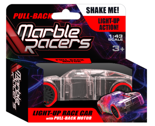 Pull-Back Marble Racer - Red Perspective: front