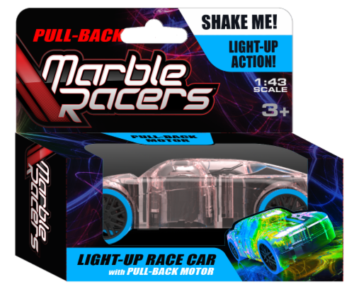 Pull-Back Marble Racer - Blue Perspective: front