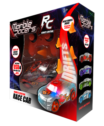 Remote Control Marble Racer - Red Perspective: front