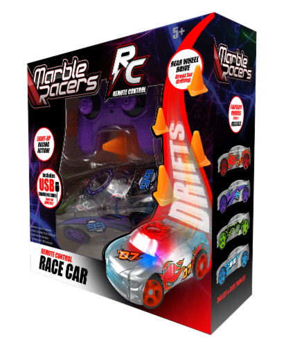 Remote Control Marble Racer - Purple Perspective: front