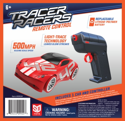 Tracer Racers RC - Red Car Perspective: front