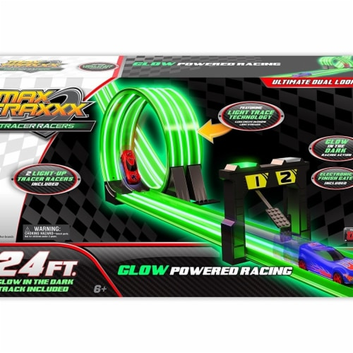 Max Traxxx 97219 24.5 x 16.5 x 7.5 in. Tracer Racers 24 Dual Loop Set Perspective: front