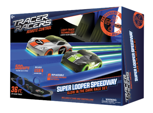 Tracer Racers RC Super Looper Speedway Perspective: front