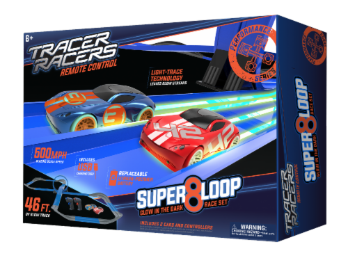 Tracer Racers RC Super 8 Loop Speedway Perspective: front