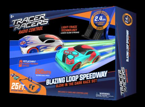 Tracer Racers RC Blazin' Loop Speedway Perspective: front