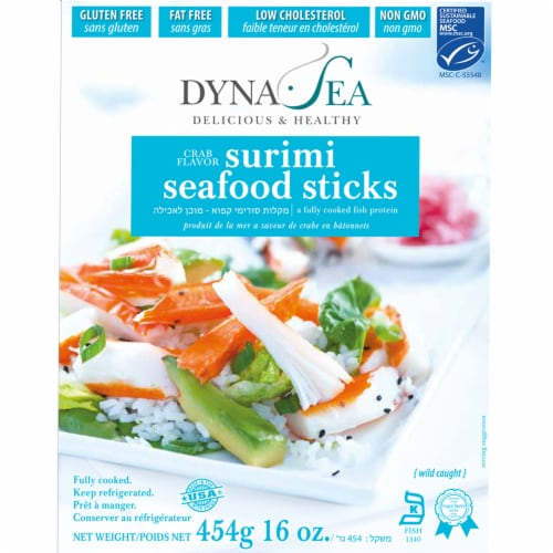 Dyna-Sea Imitation Crab Sticks Perspective: front