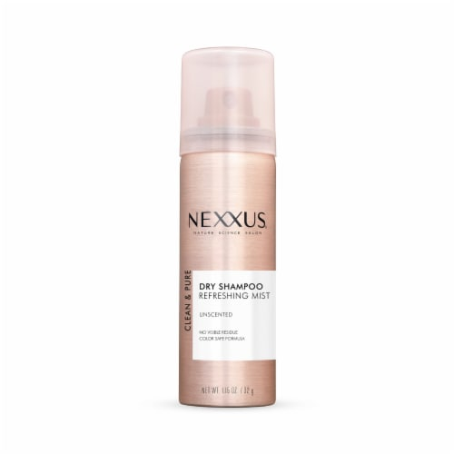 Nexxus Clean & Pure Refreshing Mist Unscented Dry Shampoo Perspective: front