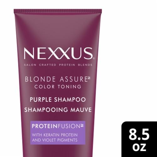 Nexxus Blonde Assure Color Toning Purple Shampoo Perspective: front