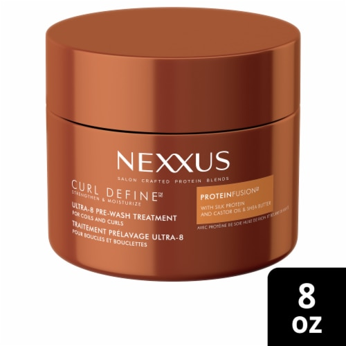 Nexxus Curl Define Ultra-8 Pre-Wash Hair Mask Treatment Perspective: front