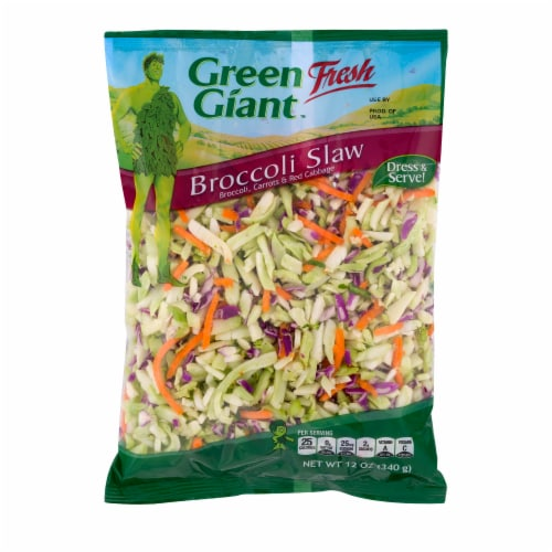 Green Giant Broccoli Slaw Perspective: front