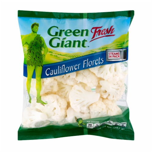 Green Giant Ccauliflower Florets Perspective: front