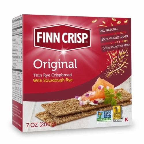 Finn Crisp Original Thin Rye Crispbread Perspective: front