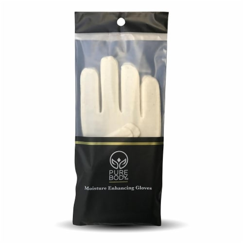 Pure Body Natural Moisture Gloves Perspective: front