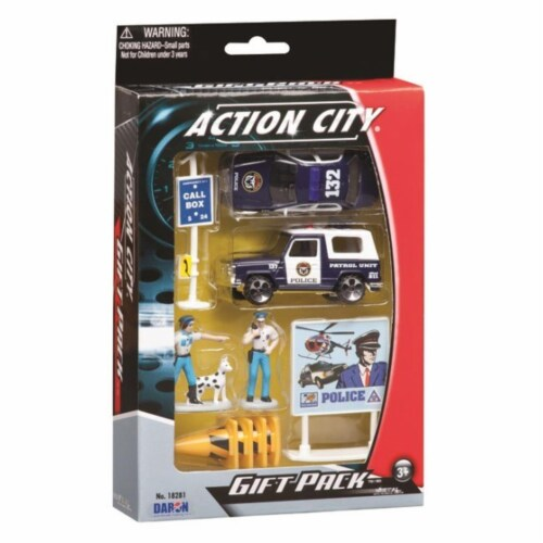 Daron Worldwide Trading  RT38941P Police Dept. 10 Piece Gift Set Perspective: front