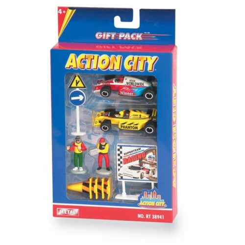 Daron Worldwide Trading  RT38941R Racing 10-PIECE Gift Set Perspective: front