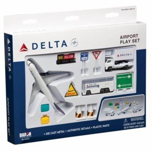 Daron Worldwide Trading RT4991 Delta 12 Piece Playset Perspective: front