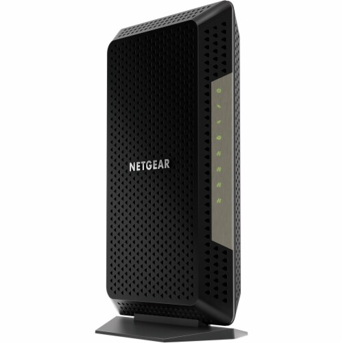 NETGEAR Nighthawk DOCSIS 3.1 WiFi Cable Modem Perspective: front